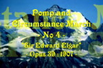 Click here for the Pomp and Circumstance March No 4 by Sir Edward Elgar  performed by Miss Denise Hewitt